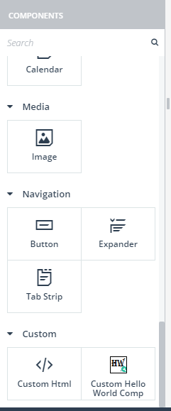 Introduction to Custom Components for Kendo UI Builder