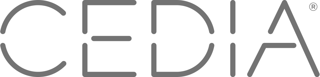 CEDIA logo copper