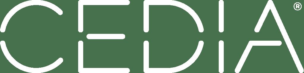 CEDIA logo white