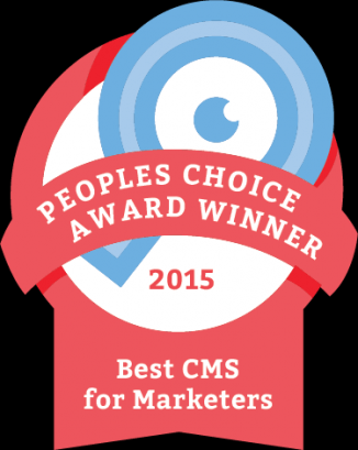 CMS Critic Choice Award 15 Sitefinity