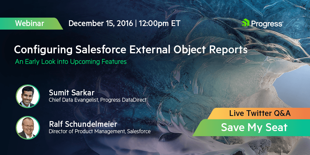 Configuring Salesforce External Object Reports