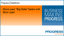 "Move your ""Big Data"" faster with Bulk Load"