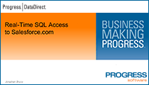 Real-Time SQL Access to Salesforce.com
