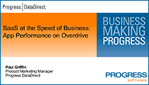 SaaS at the Spead of Business: App Performance on Overdrive