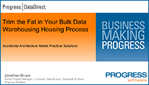 Trim the Fat in Your Bulk Data Warehousing Housing Process