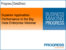 Superior Application Performance in the Big Data Enterprise Webinar