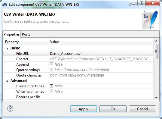Drag and Drop CSV Componenet