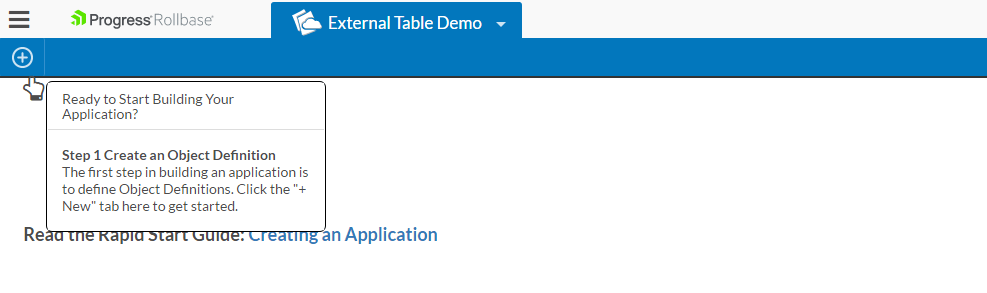 External-Table-application