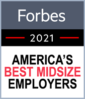 Forbes America's Best Midsize Employers for 2021