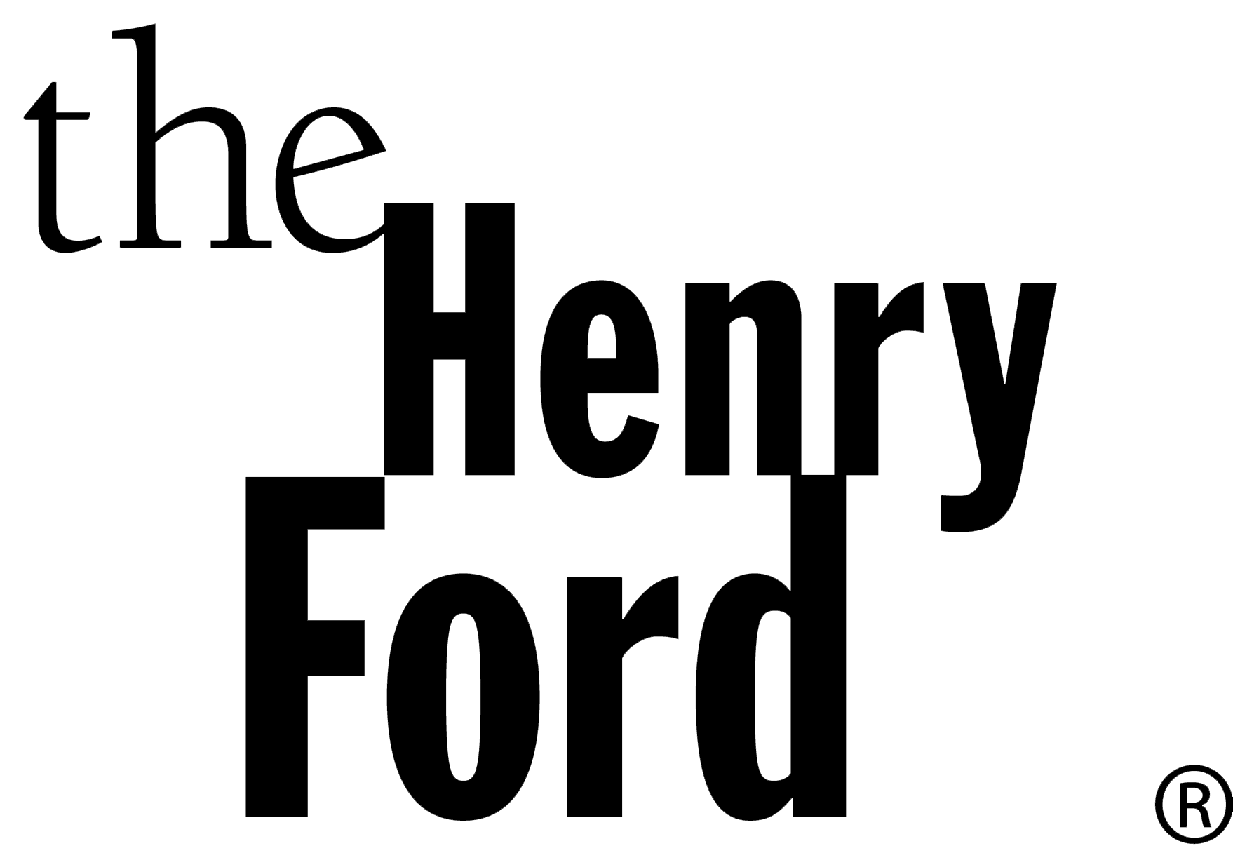 HenryFord BlockLogo_Black_transparent