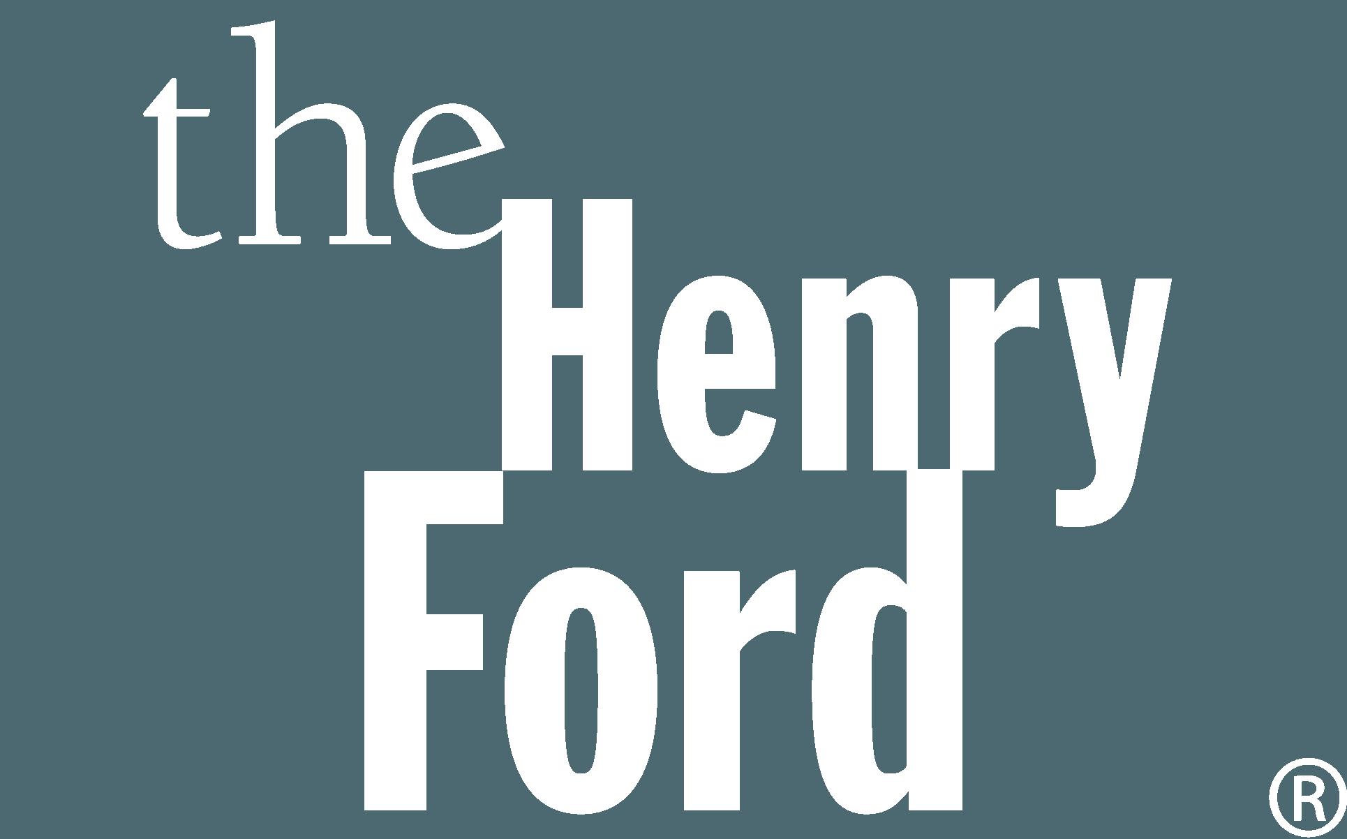 HenryFord BlockLogo_white