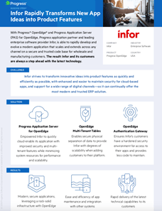 Infor Infographic Case Study