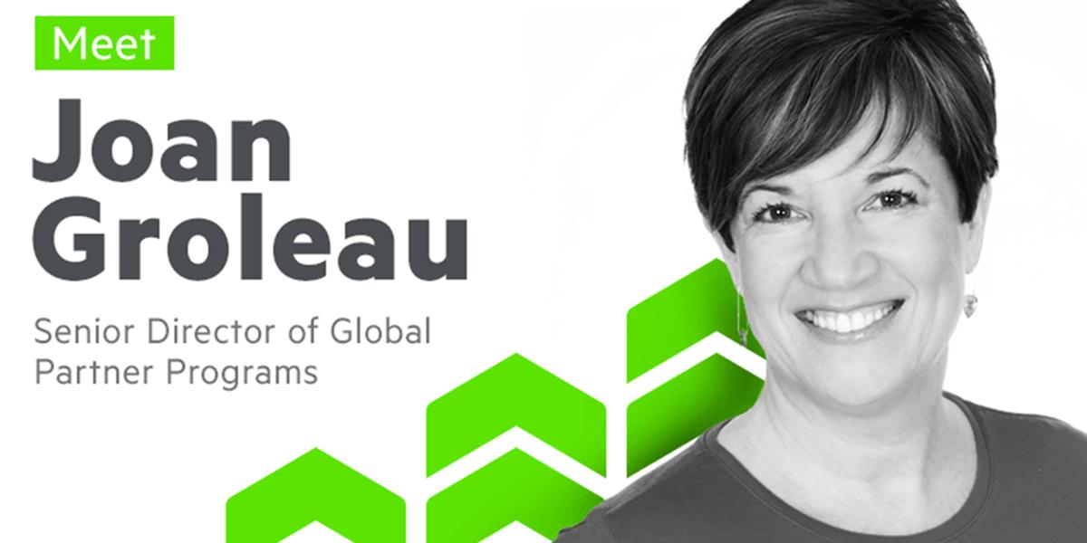 Joan Groleau, Senior Director of Global Partner Programs at Progress