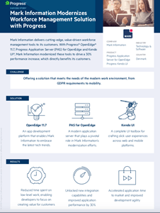Mark Information Infographic Case Study