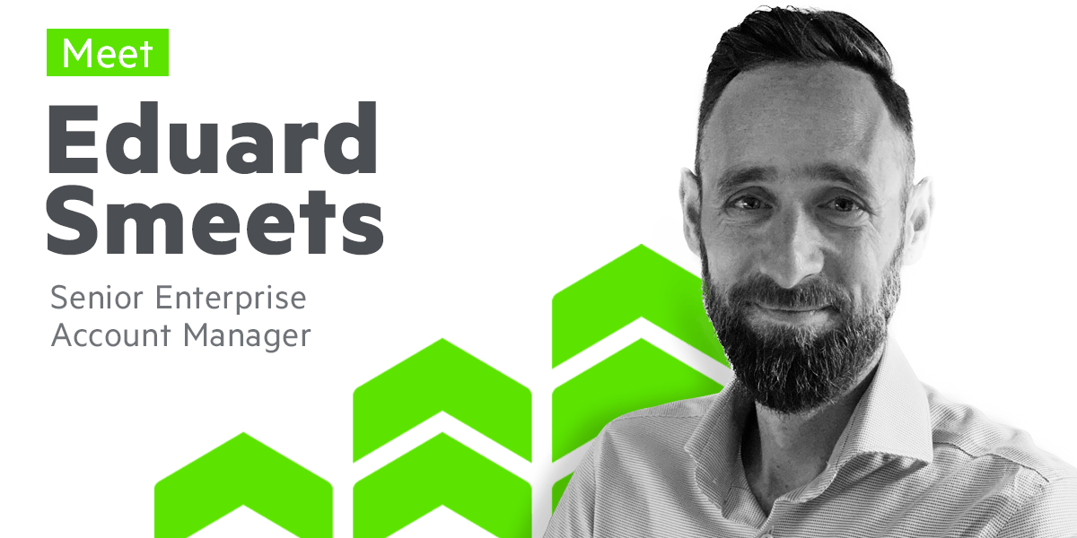 Meet Eduard Smeets, Senior Enterprise Account Manager at Progress