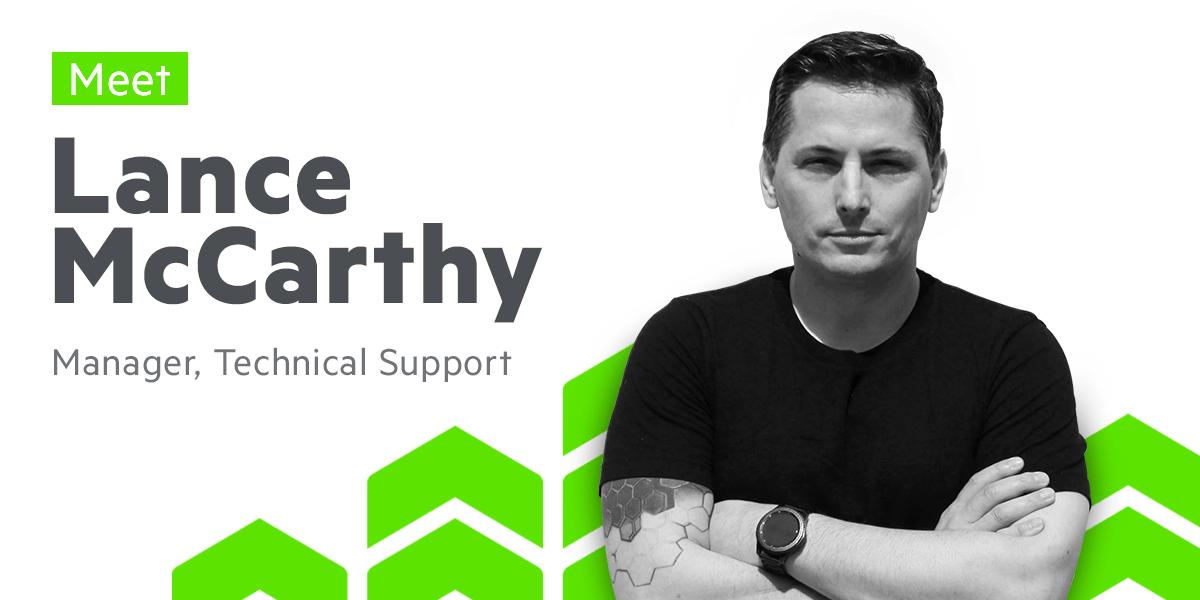 Meet Lance McCarthy, Team Lead DevTools U.S. Support at Progress