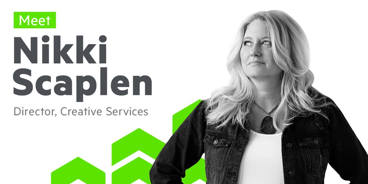 Nikki Scaplen director of creative services for Progress