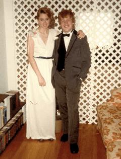 Progress Creative Director Nikki Scaplen and late actor Philip Seymour Hoffman, her prom date.