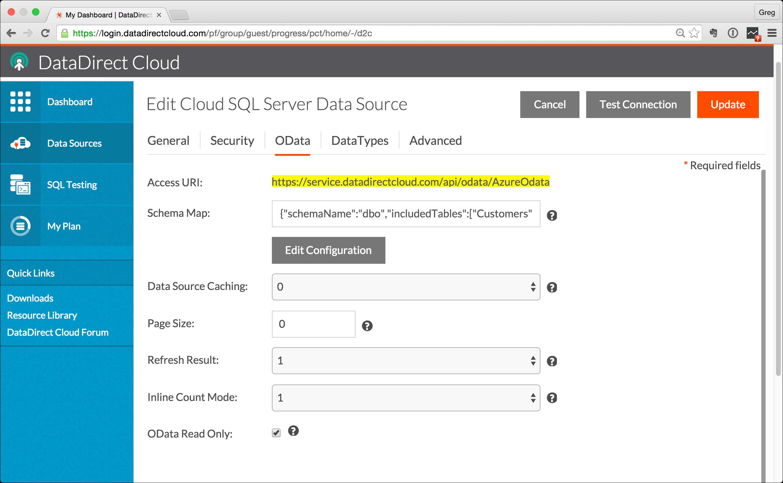 Start-With-OData-Data-Source