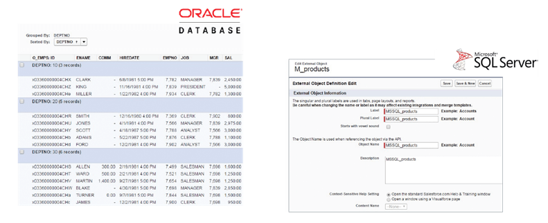 Oracle and SQL Server