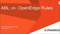 ABL vs OpenEdge Rules Webinar