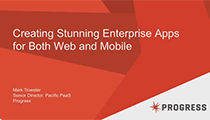 Creating Stunning Apps for Both Web and Mobile