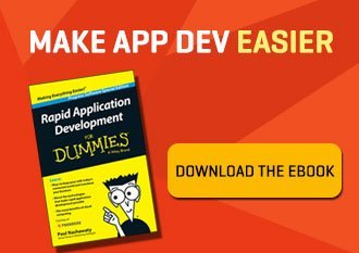 Rapid Application Development for Dummies eBook