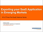 Exporting your SaaS Application in Emerging Markets