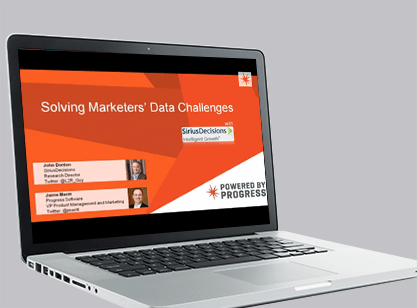 Solving Marketers Data Challenges