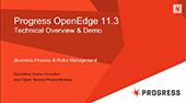 Progress OpenEdge 11.3