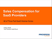 Sales Compensation for SaaS Providers