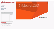 How to Stay Ahead of Trends in Application Development