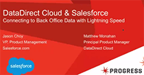 DataDirect Cloud & Salesforce