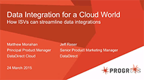 Data Integration for a Cloud World