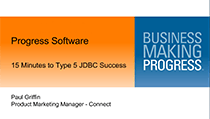 Type 5 JDBC Success