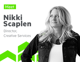 Progress Creative Director Nikki Scaplen