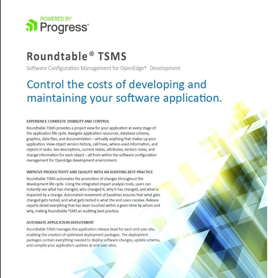 Roundtable TSMS by Roundtable Software