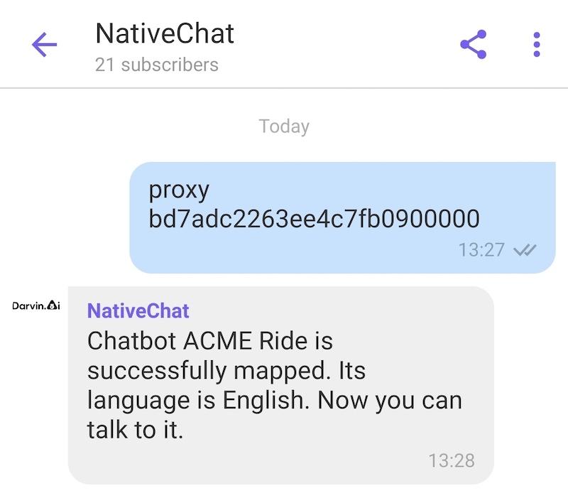 Send Proxy Command
