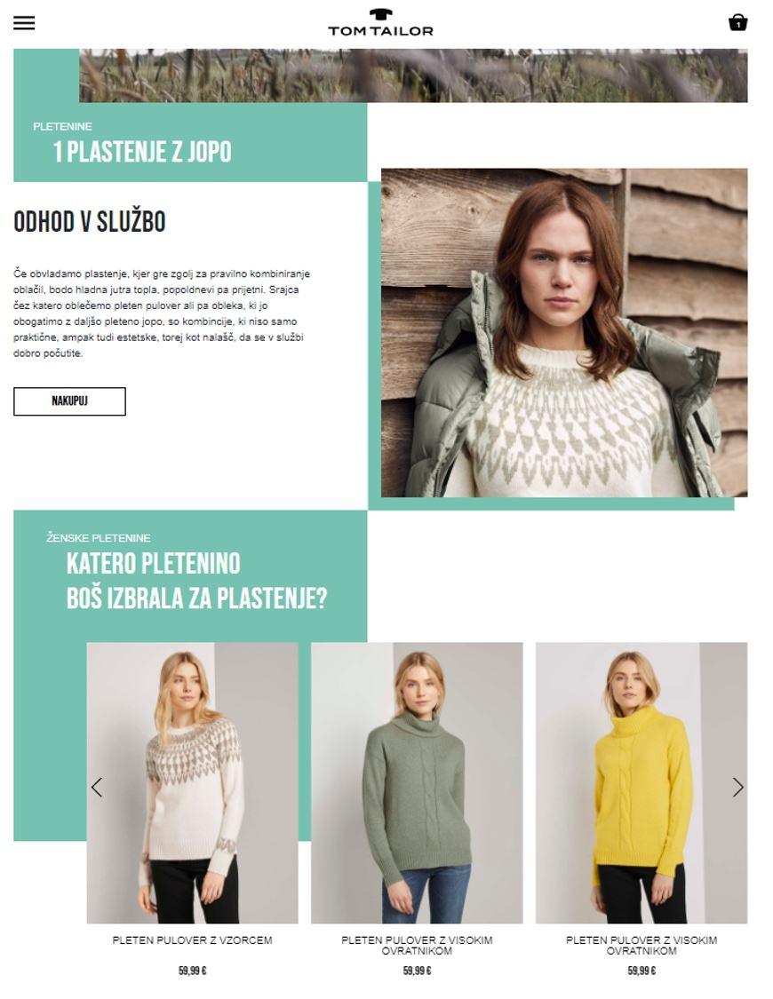 Tom Tailor Website