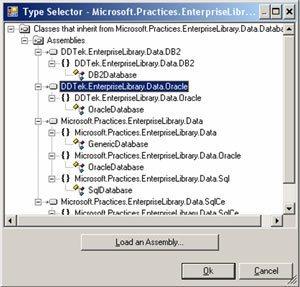 Microsoft Enterprise Library DAAB