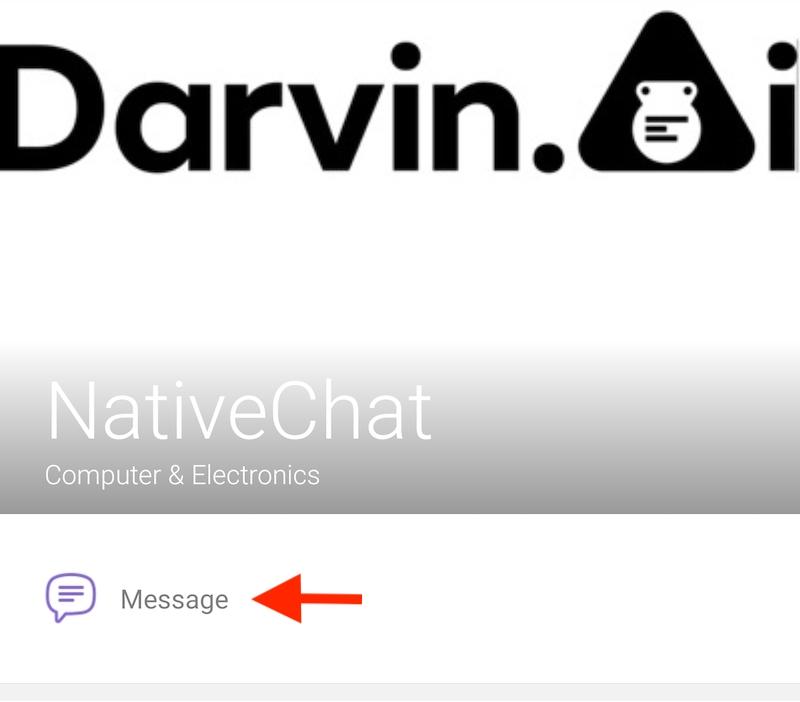 Viber NativeChat Channel