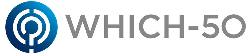 Which50 logo
