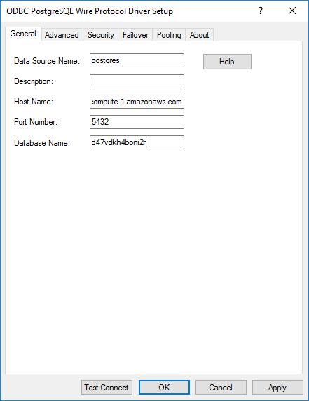Wire Protocol Driver Setup