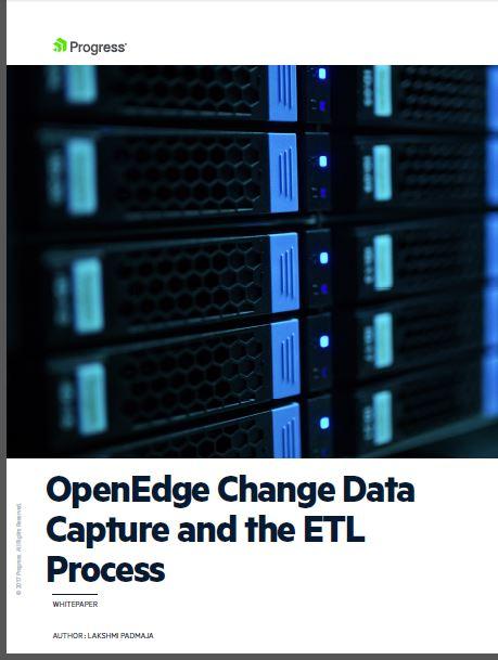 OpenEdge CDC and the ETL PRocess