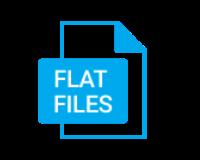 Flat files logo