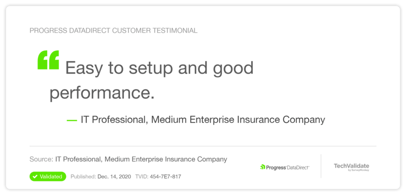 TechValidate Customer Testimonial