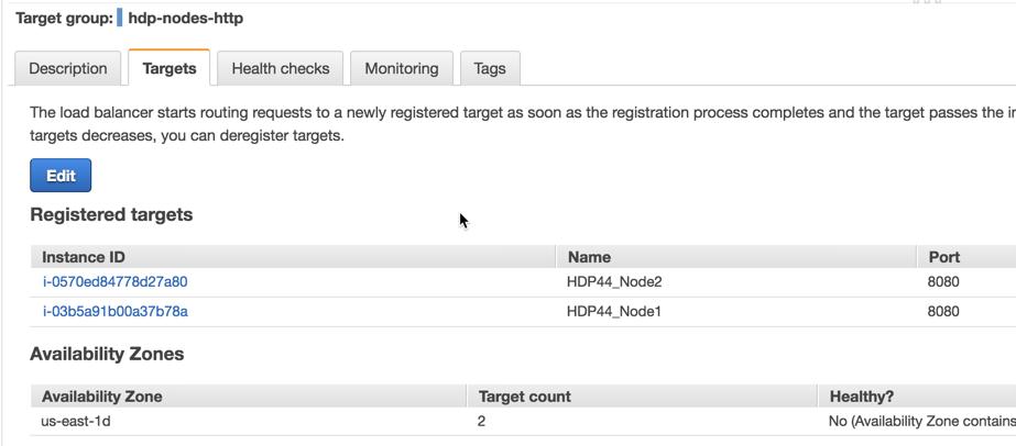 Configure an AWS Load Balancer for Progress Hybrid Data Pipeline