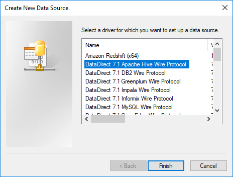 DirectQuery DataDirect ODBC drivers in Power BI