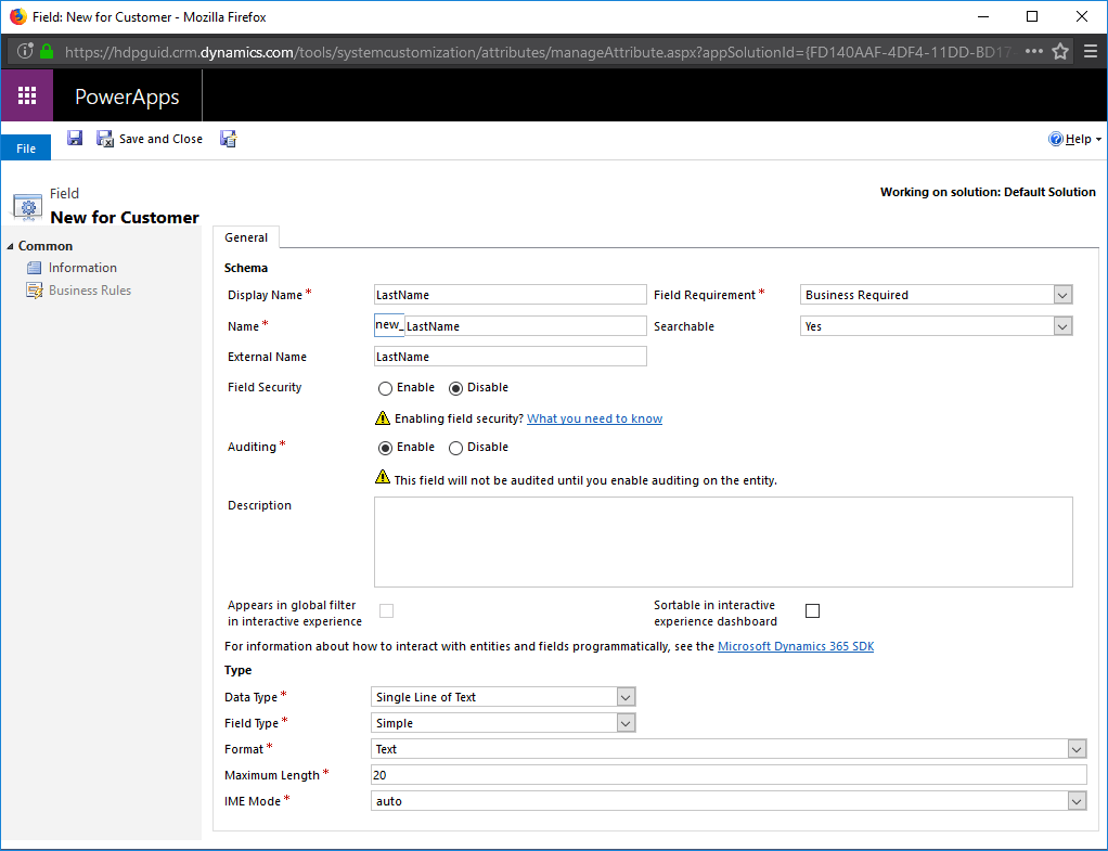 10 Virtual Entity Dynamics CRM
