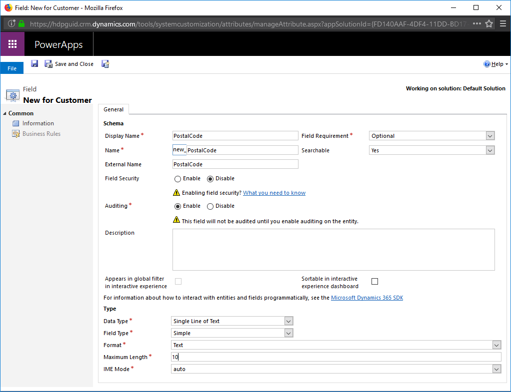 16 Virtual Entity Dynamics CRM